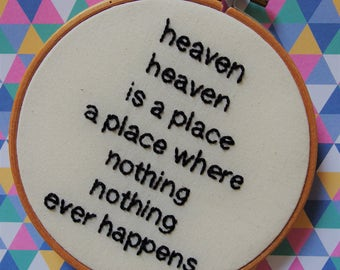 Heaven david byrne lyrics