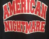 Vintage American Nightmare Sweater in Navy Blue