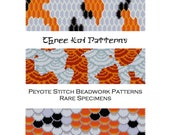 3 for the price of 2 Koi Fish Scales Peyote Stitch Beadwork Patterns - Cuff Bracelet - Bookmark - Beaded Tapestry - PDF instant download