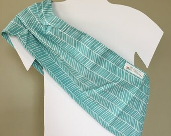 Original Pleated Shoulder Doll Sling - Size SMALL - More Patterns and Sizes in Shop - Toy Pouch Sling Carrier - Big Sister Gift
