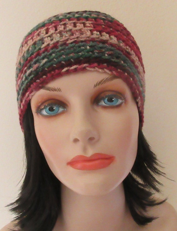 Red Beanie  Green Beanie Crochet Beanie Cold Weather Accessory Hockey Mom Ski Hat Ice Skating Snow Playing