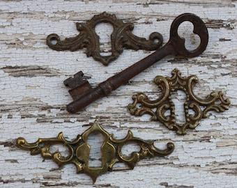 Escutcheon Decorative Key Hole Cover 3 to choose