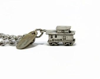 Horseshoe Curve, Altoona PA Charm Bracelet, Sterling Silver, Train Charm, Vintage Jewelry, 925 Silver, Silver Charm, Estate Jewelry