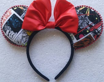 Star wars comics minnie ears