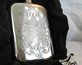 Bobby Singer Supernatural Celtic Flask Screen Accurate
