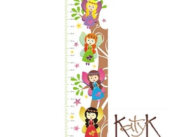 Forest Fairies - Growth Chart