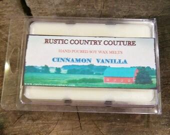 Cinnamon Vanilla Soy Wax Melts