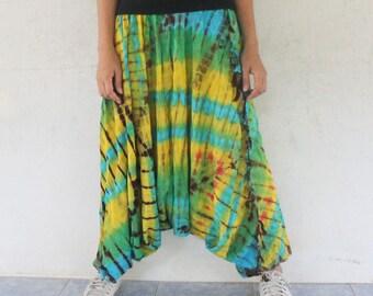 batik  harem pants ,yoga,spa,hippie, bohemian,  size S-L,unisex pants.