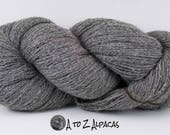 Sock Weight - Gray - Alpaca Yarn - Made in Canada