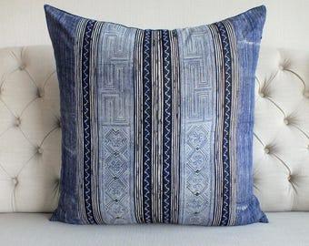 "26""By26, Vintage Batik Fabric,  Cushion covers, Handwoven Hemp Fabric, Cushions and pillows,"