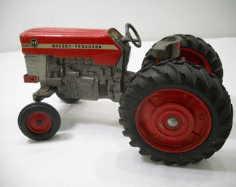 Vintage ERTL Massey-Ferguson 175 Diesel Toy Tractor FREE SHIPPING