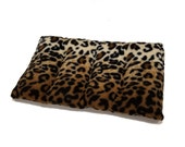 40% OFF Leopard Large Body Microwave Heating Pad (14x8), Back, Neck, Shoulder Heat Wrap, Rice-filled