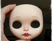 "BLYTHE custom Doll FACEPLATE ""Real Girl"" by Antique Shop Dolls"