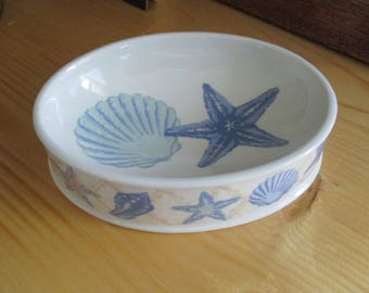 Vintage Soap Dishes - Your Choice - Seashells OR Fish