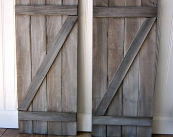 Farmhouse Barn Wood Shutter