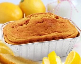 16 ounce Lemon Bread Loaf Candle