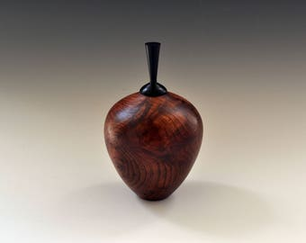 Hollow Form in Redwood Burl
