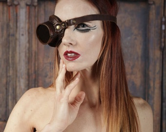 Hand Stitched Leather Monocle