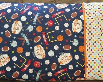 Pillowcase Kit, Game Day, Riley Blake Fabrics