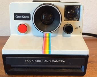 Polaroid One Step Land Camera Vintage Retro
