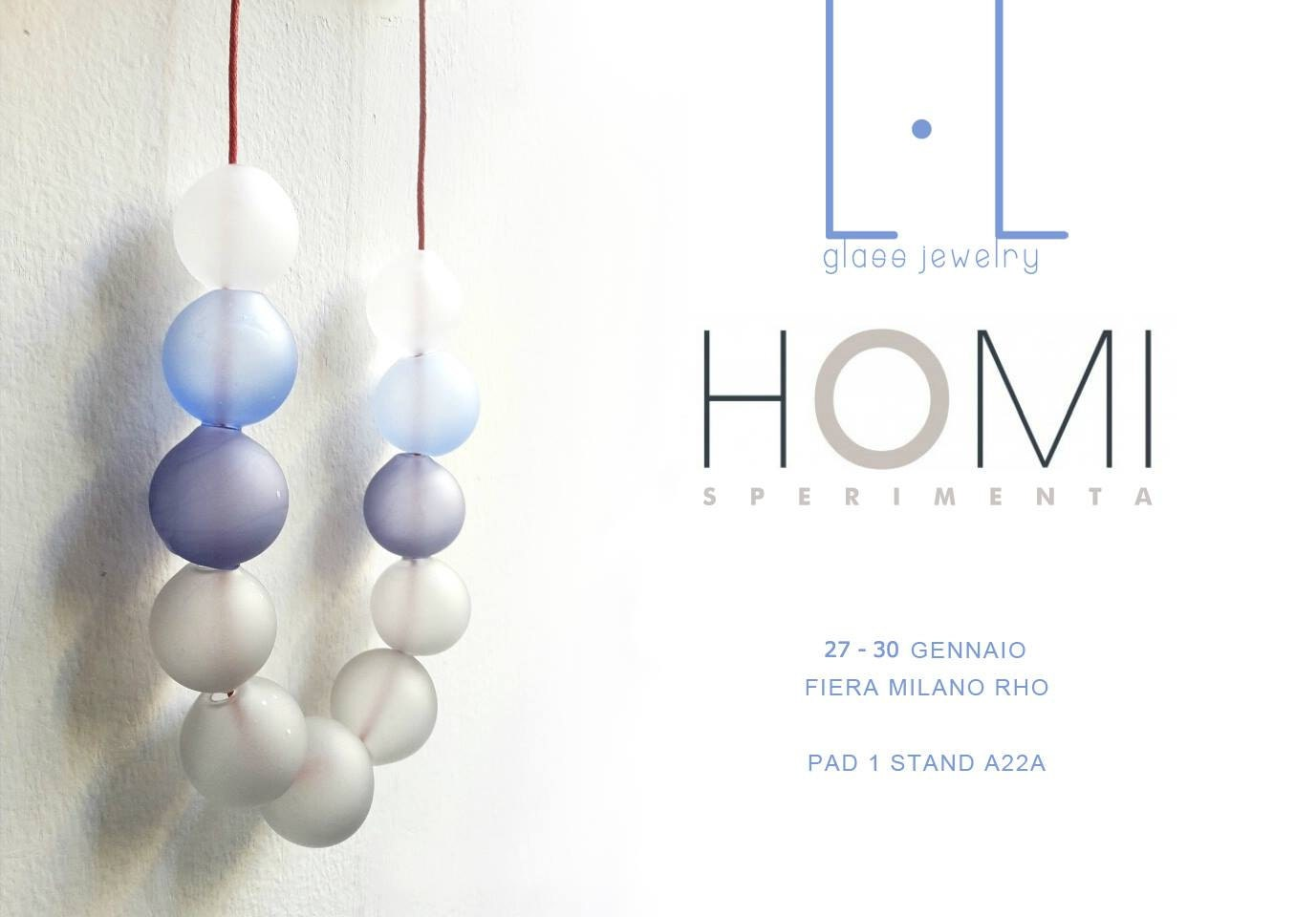 We are pleased to announce that from 27 to 30 january we will be present in the most important Italian exhibition. In SPERIMENTA HOMI Milano. HOMI SPERIMENTA presents a top-quality selection of products, brands and designers Involved in research, testing and self-production. Homi Sperimenta Fashion & Jewels is the focal point for all products which revolve around fashion and jewels. Self-productions and new creations made with environmentally friendly materials, recycled material from machines and machine parts, fashioned into unique, innovative products, to be worn as accessories or for practical use.