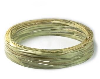 Dune Grass Jewelry- Green Grass Jewelry- Jewelry with Real Flowers- Dried Grass Flowers -Brown Grass-  Green Jewelry-Resin Jewelry