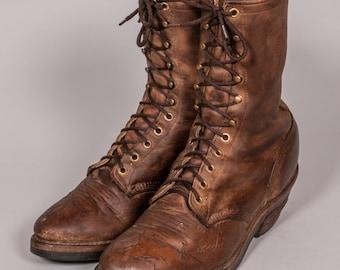 CHIPPEWA Work Boots Men's Size 9 .5 D