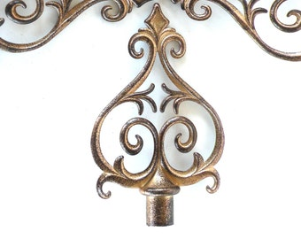 Curtain Rod Finials- Ready to Repurpose- Decorative Pieces Hardware Project Craft DIY
