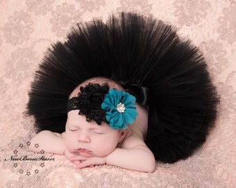 Black Tutu, Newborn Tutu, Baby Tutu, Tutus for children, Flower Girl tutu, 1st birthday tutus, birthday tutu, mommy and me tutus