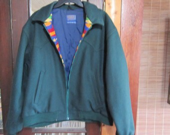 PENDLETON western wear wool jacket sz xl vintage pendleton