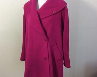 Miss V by Valentino Wool Coat