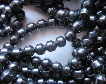 Hematite Beads 6mm 24 Beads