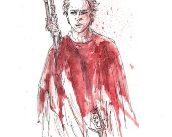 Carol Walking Dead 11x14 Signed and Numbered Print