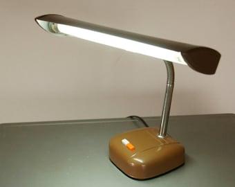 Vintage Task Lamp, Adjustable Desk Lamp, Industrial Lighting, Mid Century Office