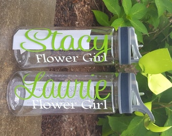 Water Bottle, Personalized Water bottle, Cheerleader Waterbottle, Sports water bottle, Sports, Volleyball, Gymnastics,basketball,lacrosse,