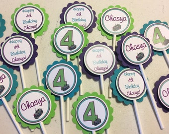 Hip Hop Cupcake Toppers