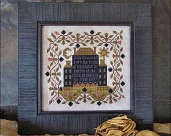 10% OFF Pre-order NEW Twelve Of The Clock Cross Stitch Nashville Market 2017 Heartstring Samplery cross stitch pattern