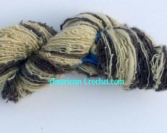Desert handspun yarn / 1ply / 60 yards