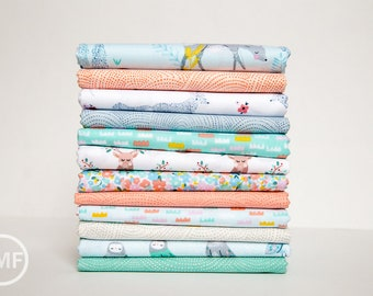 Pine Grove Fat Quarter Bundle, 12 Pieces, Dear Stella Fabrics, 100% Cotton Fabric
