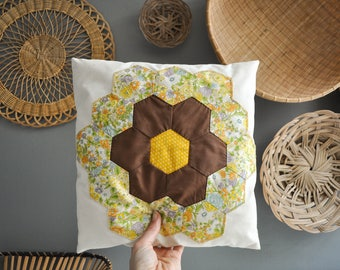 Vintage Patchwork Decorative Pillow