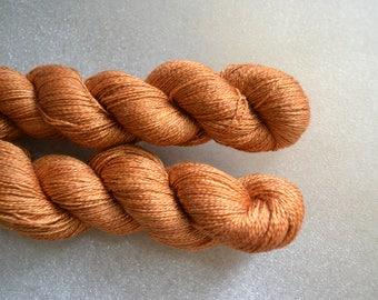 2 ply yarn, lace weight, silk superwash merino yarn 2ply 430 yards 50g for knitting crochet, handdyed