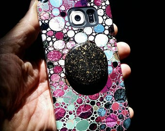EMF Cell Phone Radiation Dampening Disc.  EMF protection Disc for all cell phones using Noble Shungite/Orgone Energy