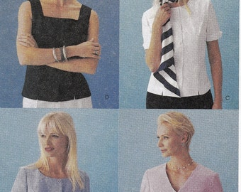 """Sewing Pattern Womens Careerwear Tops McCall's 3668 Sleeve Variations Size 14-16-18 Bust 36-38-40"""""""