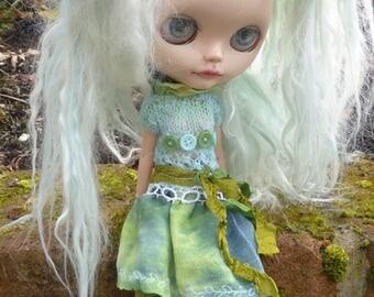 Blythe Sweet Spring/Summer Dress & Tights (BD5617)