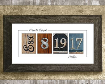 WEDDING GIFT IDEAS, Rustic Wedding Decor, Wedding Date Sign, Personalized Wedding Gifts, Bridal Shower Gift, Anniversary Gift