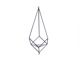 Flower hanging planter - Plant hanger ''Crystal'' from ''GEM collection''