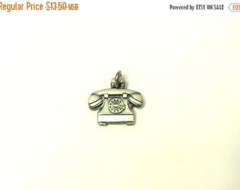 ON SALE Sterling Silver Rotary Telephone Charm - O.C. Tanner Jewelry Co.