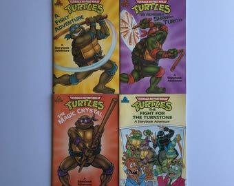 1990 Teenage Mutant Ninja Turtle Books