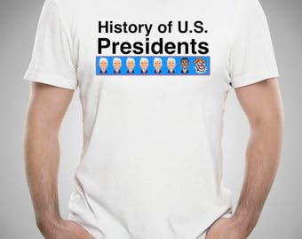 History of U.S. Presidents Tee
