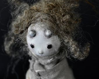 OOAK Art Doll - The Abandoned One - Mwynen